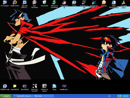 Desktop Kamina Simon by bad-exposition