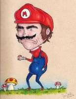 It's-a Mario Time! by chilealea