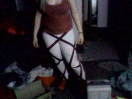 My Attack on Titan belts Legs front by ForeverLightHikari