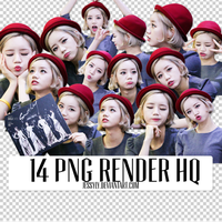 14 PNG Render Pack HQ - Hyeri (Girls Day) by jessyly