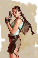 lara croft 2 by kartinka75