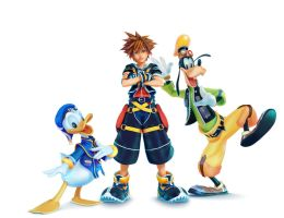 Kingdom Hearts III Game Informer Cover by SNEEDHAM507