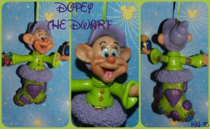 Dopey Christmas Ornament by disneykittyart