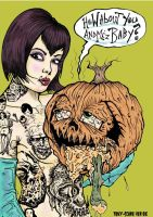 seedy punkin ha ha by DEADMONKEY