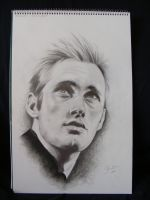 portrait Alexander Skarsgard by monstergirl1
