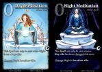 Day and Night: Card interface by Mystic-Mind