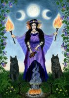Hecate by AnnaIceflames