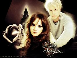 Rose and Scorpius by shesguiltybydesign