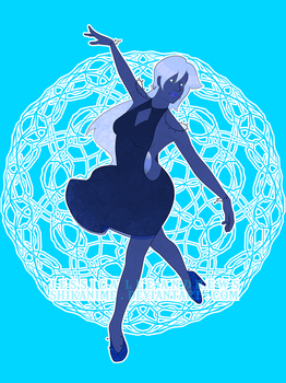 Prussian Blue Pearl by ShikaNime