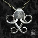 Mystax Fork Pendant by Doctor-Gus