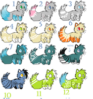 Cat point adoptables 3 by Icey-adopts