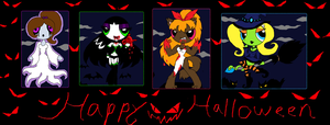 Happy Halloween 2012!!! by PurfectPrincessGirl
