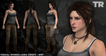 Visual Works Lara Croft - Full Body WIP by ExpeditionEndurance
