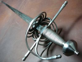 Shell hilt side sword - 2 by Danelli-Armouries