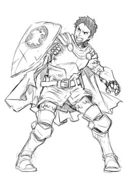 Fanart :Eric - Dungeons and Dragons by loboborges