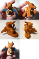 Day 10- Charizard Jizo by ChibiSilverWings