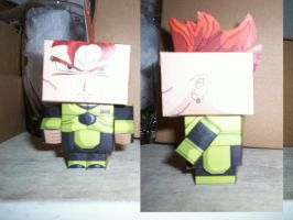 ANDROIDE 16 CUBEECRAFT by tenchaos
