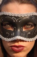 Masked Beauty 2 by Storms-Stock