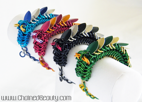 Dragon Bracelets 2 by ChainedBeauty