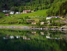 Sailing the fjords to Skjolden 47 by abelamario
