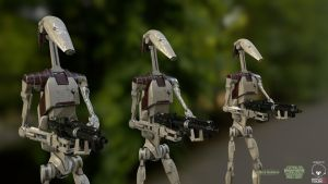 OOM Security Battle Droids by TheSphinx