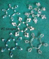 Beaded Snowflakes - Tutorial by PurlyZig