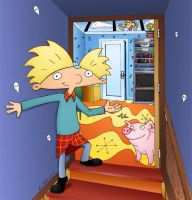 Hey Arnold - Arnold's room by ArnoldMania