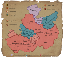 End of the Premyslid dynasty (1351) by Sevgart