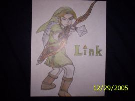 Twilight Link Bow n Arrow by Hyrulekeyblade