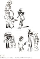 Jack and Sally's reactions to the human world by HollyBecker