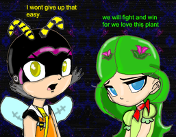 Charmy x Cosmo bleedman stlye by CompoundAngel