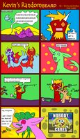 Kevin's Randomness #28 by BlueEvelyn