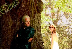 Summertime, Spike and Buffy by Smile-for-real