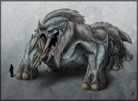 Mountain Behemoth by rpowell77