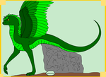 Susie the Little Feathered Serpent V2 by SassyDragon18