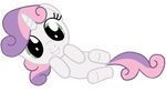 Sweetie Belle is the most cutiest pony by transparentpony