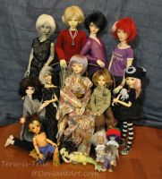 Family Portrait - November 2012 by Teru-is-True