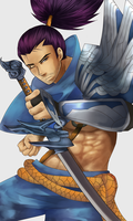 Day 1: Yasuo by cappamori