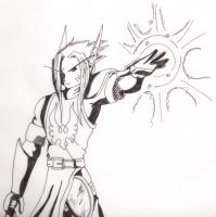 The Holy Paladin of Silvermoon by FactionFighter