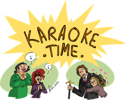Karaoke time!!! by MecaniqueFairy