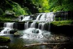 Waterfall Streams (Busby Falls) by SparkVillage