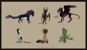 Design Sheet Commish Key2Immortality by Immonia