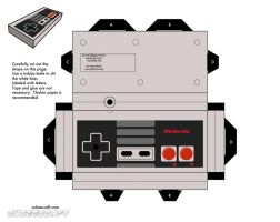 nes controller by cubbes