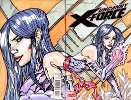 UNCANNY X-FORCE SKETCH COVER by stalk