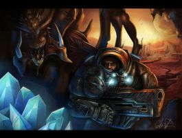 StarCraft by CourtneyBowen