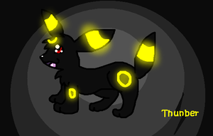 Umbreon by buizelfight