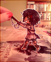 Connor Kenway Paperchild by BeckyTheBunny