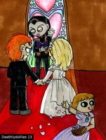 Doll wedding by Deathlydollies13
