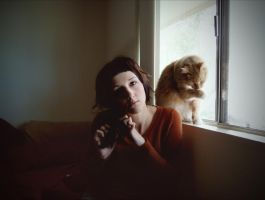 cat and Girl by Pathogens