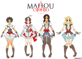 Mahou Creed -  The Assassins by starexorcist